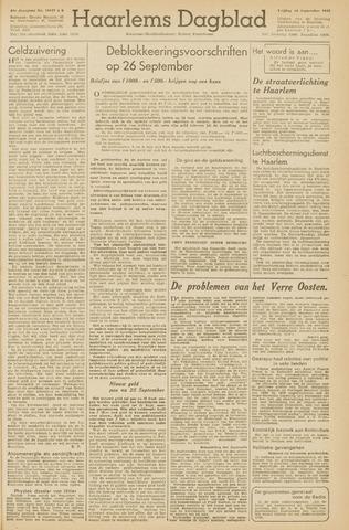 Haarlem's Dagblad 1945-09-14