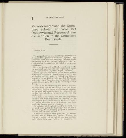 Raadsnotulen Heemstede 1924-01-17