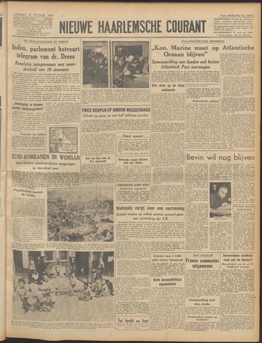 Nieuwe Haarlemsche Courant 1950-10-10