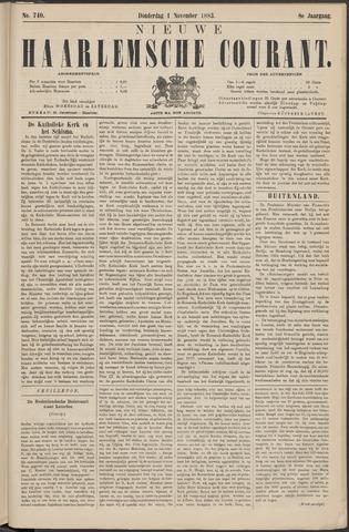 Nieuwe Haarlemsche Courant 1883-11-01