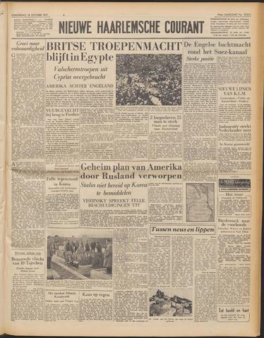 Nieuwe Haarlemsche Courant 1951-10-18