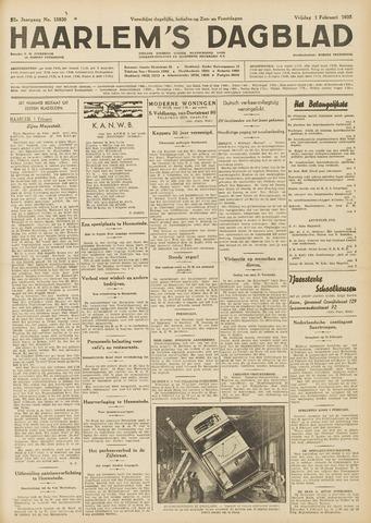 Haarlem's Dagblad 1935-02-01