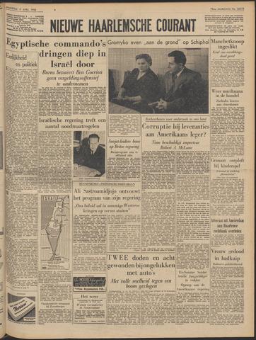 Nieuwe Haarlemsche Courant 1956-04-09