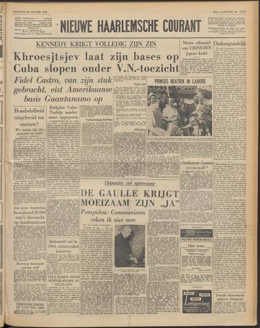 Nieuwe Haarlemsche Courant 1962-10-29