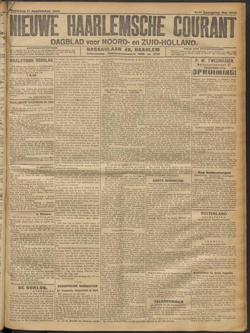 Nieuwe Haarlemsche Courant 1916-09-11