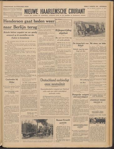 Nieuwe Haarlemsche Courant 1939-08-27