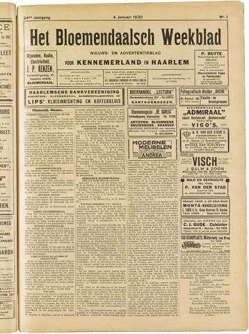 Het Bloemendaalsch Weekblad 1930