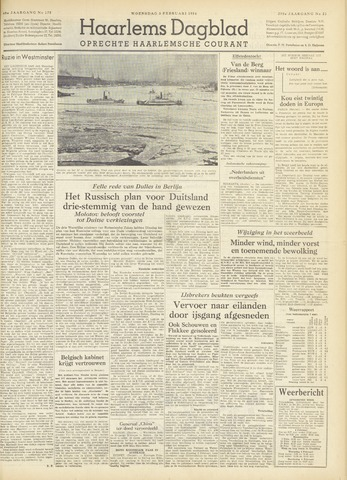 Haarlem's Dagblad 1954-02-03