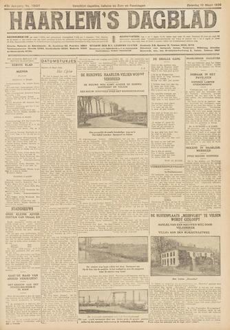 Haarlem's Dagblad 1926-03-13
