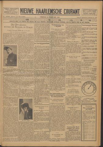 Nieuwe Haarlemsche Courant 1929-02-22