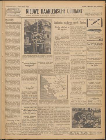 Nieuwe Haarlemsche Courant 1940-11-02