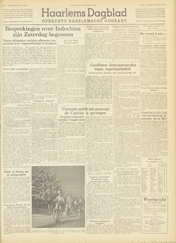Haarlem's Dagblad 1954-05-10