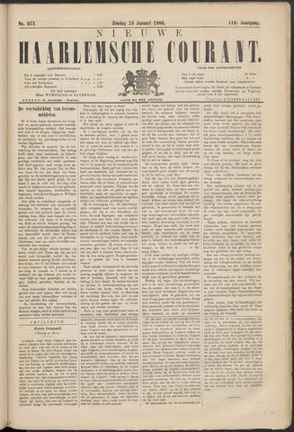 Nieuwe Haarlemsche Courant 1886-01-24
