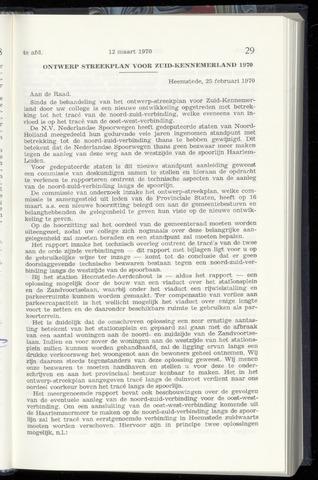 Raadsnotulen Heemstede 1970-03-12