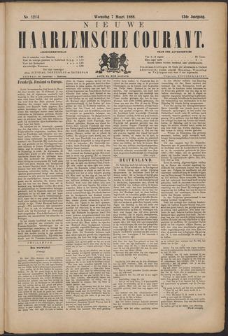 Nieuwe Haarlemsche Courant 1888-03-07