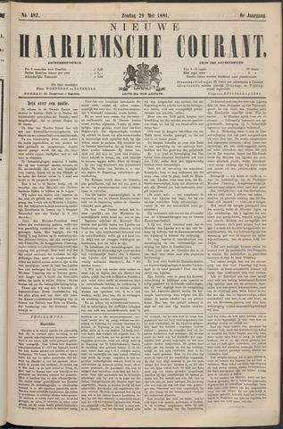 Nieuwe Haarlemsche Courant 1881-05-29