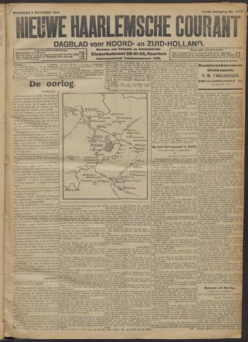 Nieuwe Haarlemsche Courant 1914-10-05
