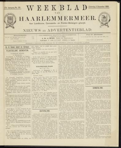 Weekblad van Haarlemmermeer 1886-12-11