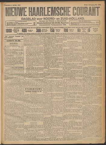 Nieuwe Haarlemsche Courant 1912-04-09