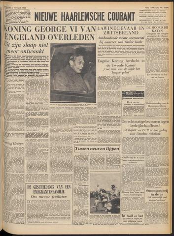 Nieuwe Haarlemsche Courant 1952-02-06