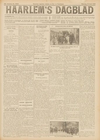 Haarlem's Dagblad 1926-04-19