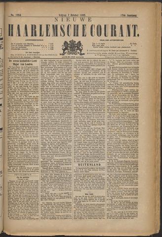Nieuwe Haarlemsche Courant 1892-10-07