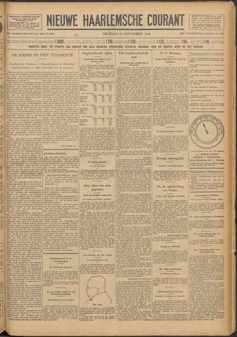Nieuwe Haarlemsche Courant 1930-11-25