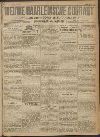 Nieuwe Haarlemsche Courant 1916-04-22