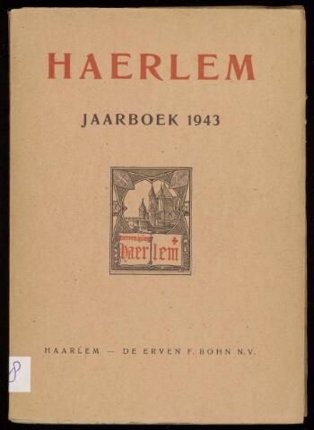 Jaarverslagen en Jaarboeken Vereniging Haerlem 1943