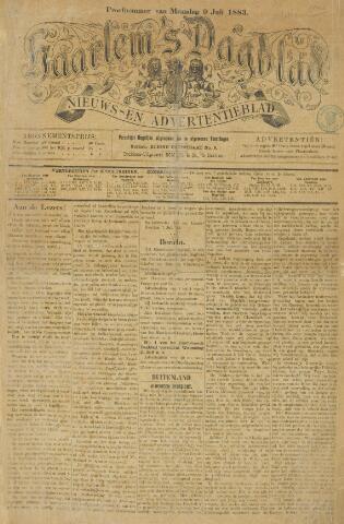 Haarlem's Dagblad 1883