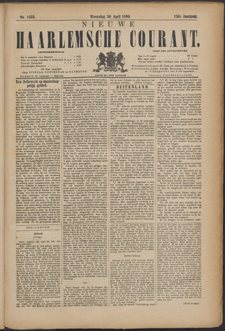 Nieuwe Haarlemsche Courant 1890-04-30