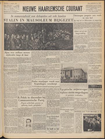 Nieuwe Haarlemsche Courant 1953-03-09