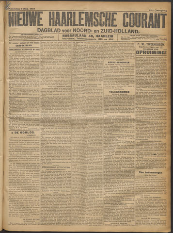 Nieuwe Haarlemsche Courant 1916-08-07