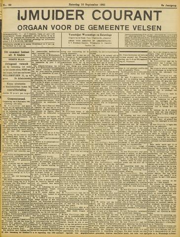 IJmuider Courant 1921-09-10