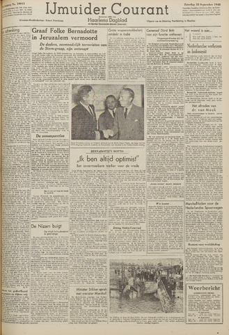 IJmuider Courant 1948-09-18