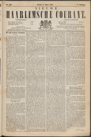 Nieuwe Haarlemsche Courant 1882-03-12