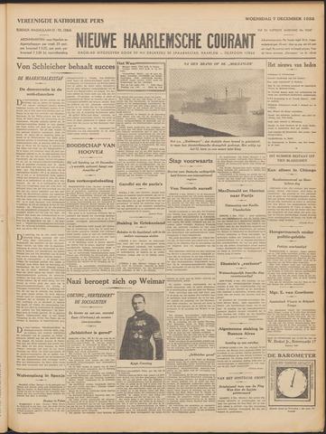 Nieuwe Haarlemsche Courant 1932-12-07