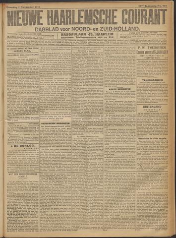 Nieuwe Haarlemsche Courant 1916-11-07