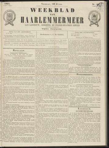 Weekblad van Haarlemmermeer 1864-06-10