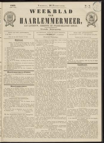 Weekblad van Haarlemmermeer 1869-02-19