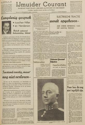 IJmuider Courant 1939-08-29