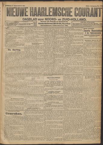 Nieuwe Haarlemsche Courant 1914-11-17