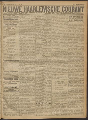 Nieuwe Haarlemsche Courant 1919-02-07