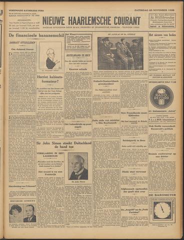 Nieuwe Haarlemsche Courant 1933-11-25