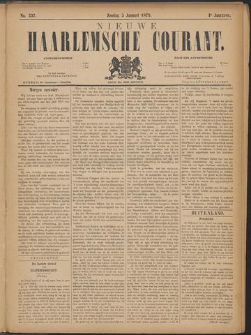 Nieuwe Haarlemsche Courant 1879-01-05
