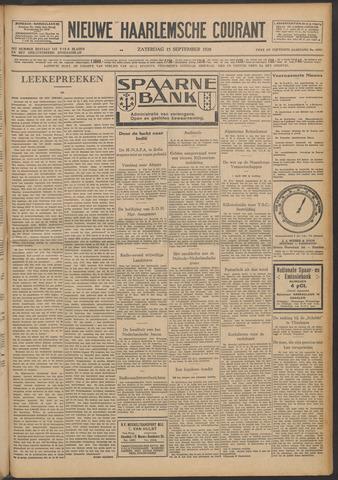 Nieuwe Haarlemsche Courant 1928-09-15