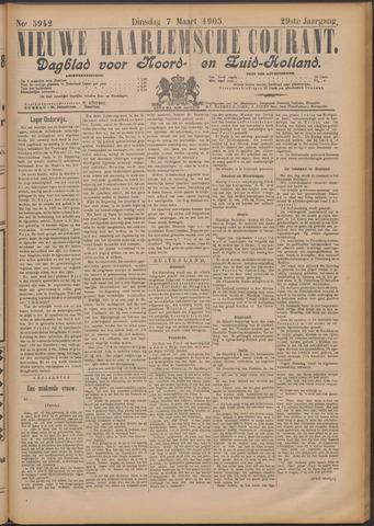 Nieuwe Haarlemsche Courant 1905-03-07