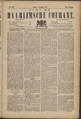 Nieuwe Haarlemsche Courant 1889-12-01