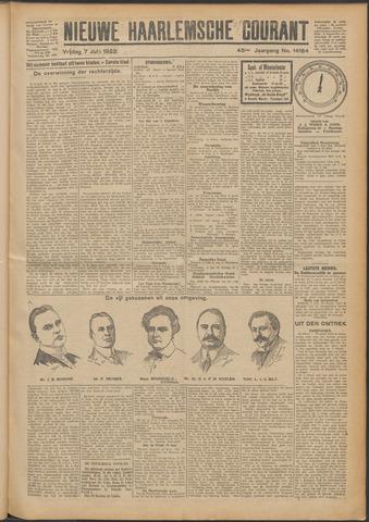 Nieuwe Haarlemsche Courant 1922-07-07