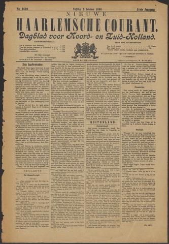 Nieuwe Haarlemsche Courant 1896-10-09
